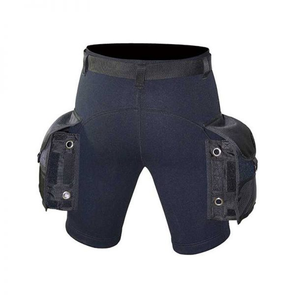 Problue RW-11 3mm Shorts with Hip Pockets